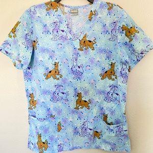 Cartoon Network Scooby- Doo Scrub Top